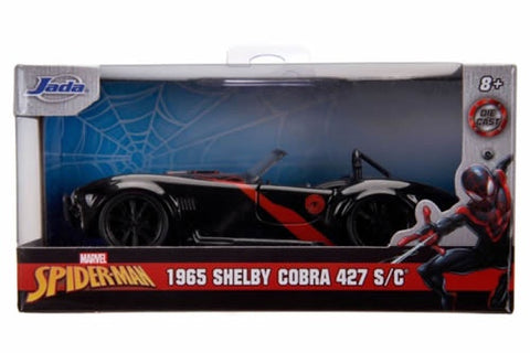 Spiderman 1965 Miles Morales Shelby 1:32 Diecast Car