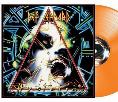 *NEW - Def Leppard, Hysteria Orange 2LP