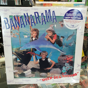 NEW - Bananarama, Deep Sea Skiving Blue LP