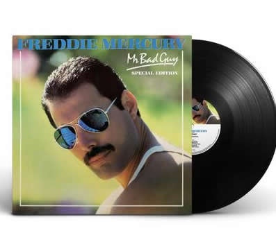 NEW - Freddie Mercury, Mr. Bad Guy 2019 LP