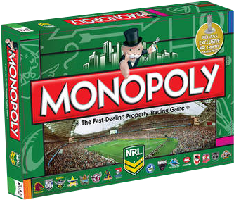 Monopoly - NRL Board Game