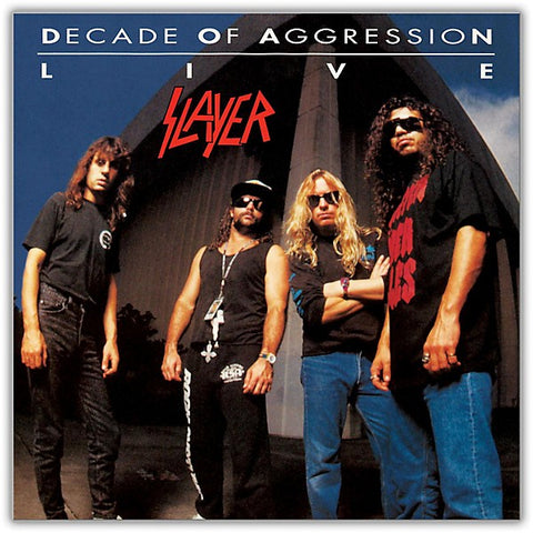 NEW - Slayer, Live: Decade of Aggression 2LP