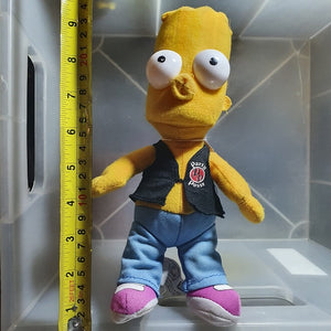 "Bart Simpson ""Party Posse"" Plush Toy"