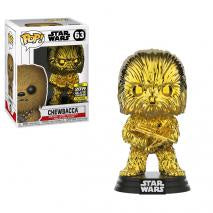 Chewbacca Gold Chrome SW19 US Exclusive Pop! Vinyl