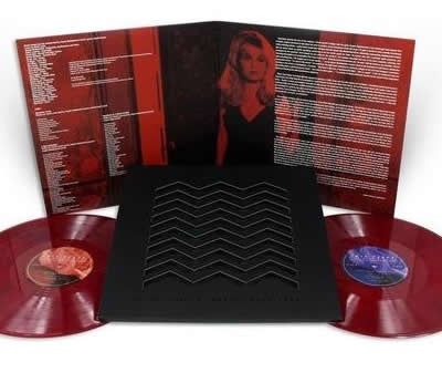 NEW - Soundtrack, Twin Peaks: Fire Walk with Me - Cherry Coloured 2LP