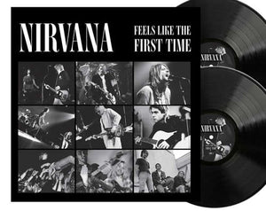 NEW - Nirvana, Feels Like First Time Ltd Black 2LP NOTE: DUE 15th Jan 2021