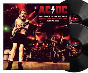NEW - AC/DC, Shot Down in The Big Easy Vol.1 Ltd Black 2LP NOTE: DUE 15th Jan 2021