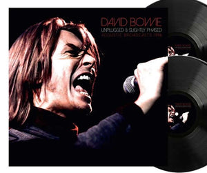 NEW - David Bowie, Unplugged and Slightly Phased Ltd Black 2LP