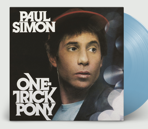NEW - Paul Simon, One Trick Pony Ltd Blue LP