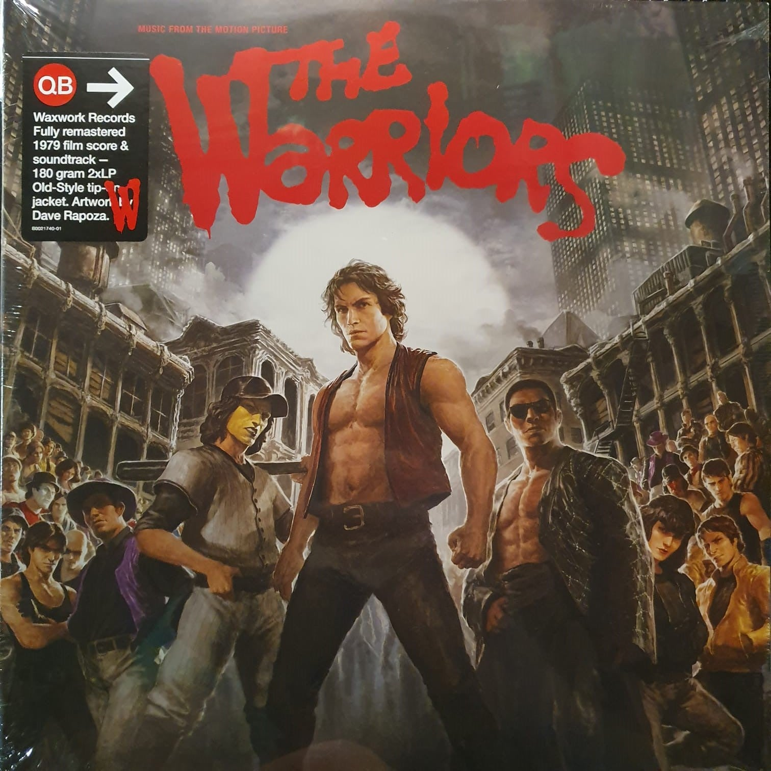 NEW - Soundtrack, Warriors OST Black 2LP