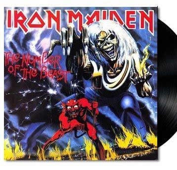 NEW - Iron Maiden, The Number of the Beast LP (Reissue)