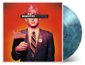 NEW - Ministry, Filth Pig Ltd Marble Blue Vinyl LP