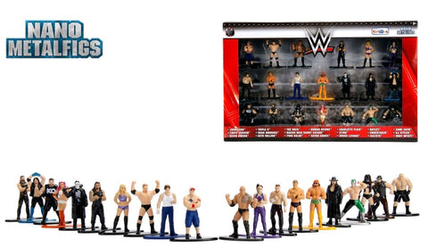 WWE - Nano Metalfigs 20-Pack