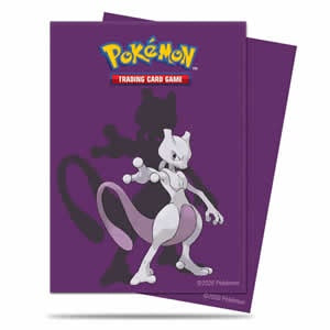 Pokemon / Ultra Pro Deck Protector Sleeve - Mewtwo