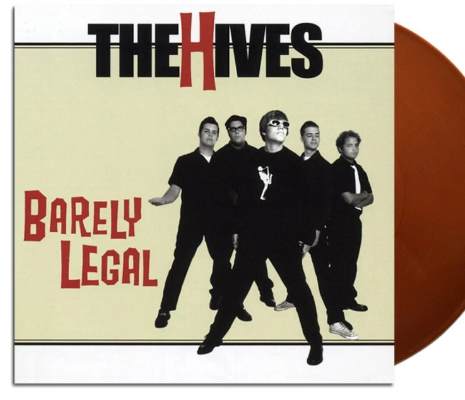 NEW - Hives (The), Barely Legal (Coloured) LP