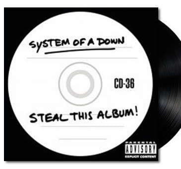 NEW - System of a Down,  Steal This Album 2LP