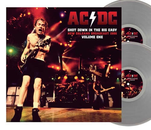 NEW - AC/DC, Shot Down in The Big Easy Vol.1 Ltd Clear 2LP NOTE: DUE 15th Jan 2021
