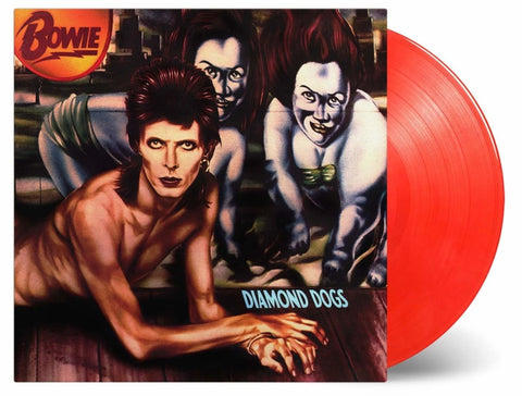 NEW - David Bowie, Diamond Dogs 45th Anniversary Red Vinyl
