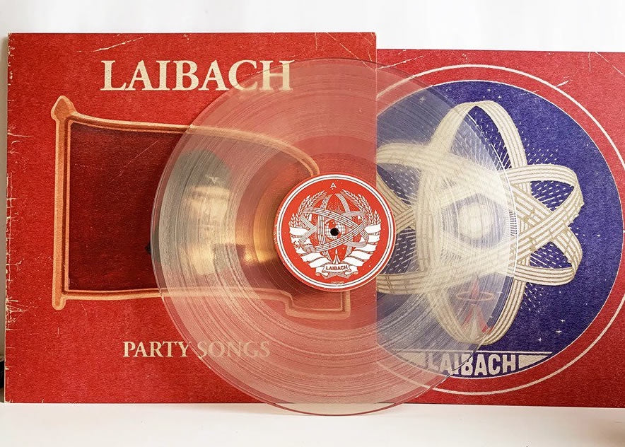 NEW - Laibach, Party Songs Ltd Ed Clear LP
