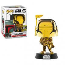 Boba Fett Gold Chrome SW19 US Exclusive Pop! Vinyl