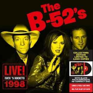 NEW - B52s, Live at Love N Rockets 2 LP (RSD Ltd Ed)