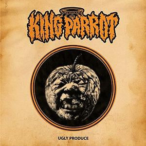 NEW - King Parrot, Ugly Produce Orange Splatter Vinyl