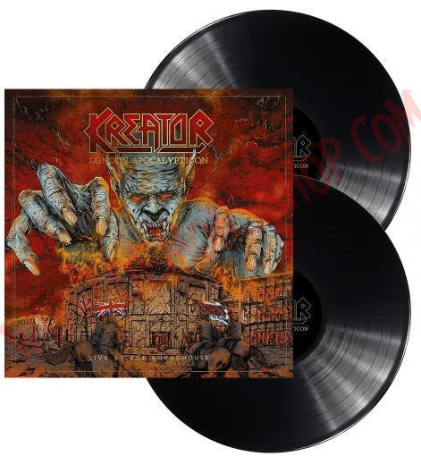 NEW - Kreator, London Apocalypticon - Live in the Roundhouse 2LP