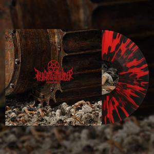 *NEW - Thy Art is Murder, Human Target Red Black Splatter Coloured Vinyl LP