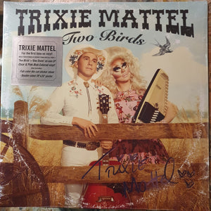 NEW - Trixie Mattel, Two Birds One Stone Clear and Pink Vinyl