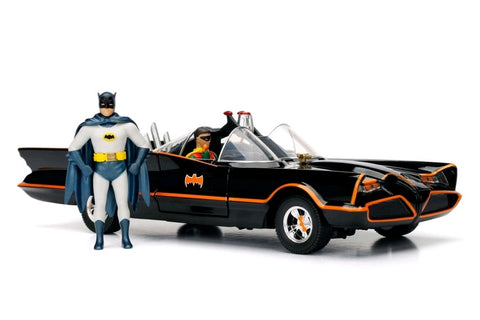 1966 Batmobile w/Batman & Robin 1:24 Scale Diecast Car