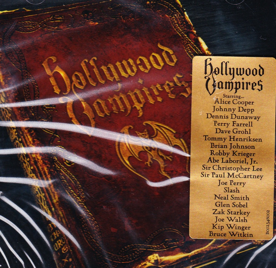 NEW (Euro) - Hollywood Vampires, Self Titled 2LP