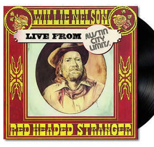 NEW - Willie Nelson, Red Headed Stranger Live From Austin LP