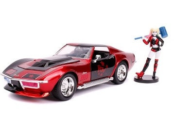Batman - Harley Quinn 69 Corvette 1:24 Scale Diecast Car