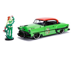 DC Bombshells - Poison Ivy 1953 Chevy Bel Air 1:24 Scale Diecast Car