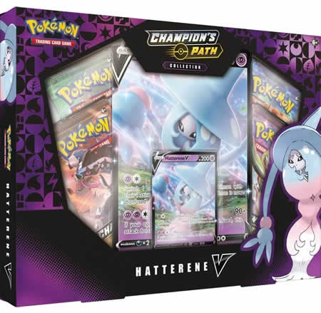 Pokemon TCG: Champions Path Collection: Hatterene V Box