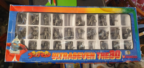 Bandai Ultra Seven - The 30 - Rubber Toy Figures