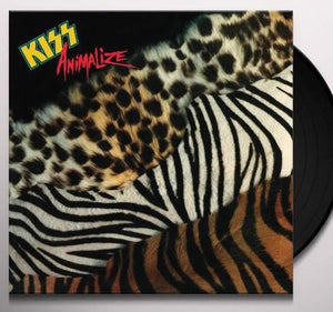 *NEW - Kiss, Animalize Black LP