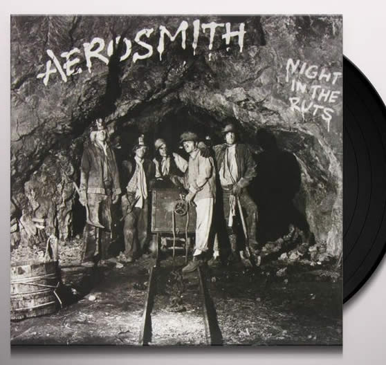 NEW - Aerosmith, Night in the Ruts LP