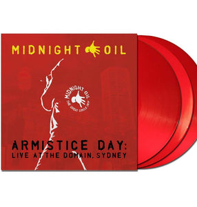 NEW - Midnight Oil, Armistice Day: Live at the Domain 3LP
