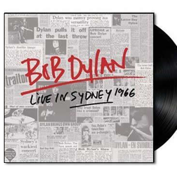 NEW - Bob Dylan, Live in Sydney 1966 - 2LP