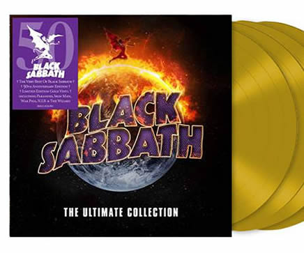 NEW - Black Sabbath, The Ultimate Collection Gold 4LP