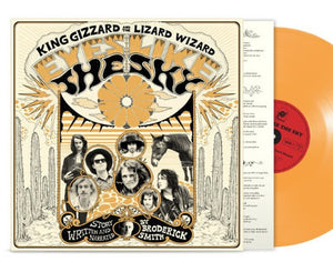 NEW - King Gizzard & The Lizard Wizard, Eyes Like The Sky Orange Vinyl