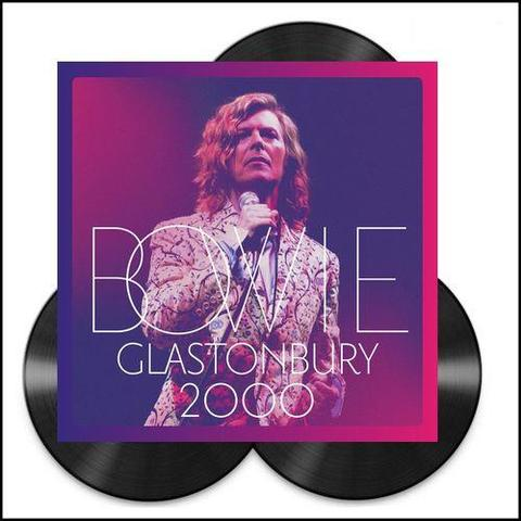 NEW - David Bowie, Glastonbury 3LP