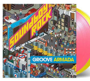 NEW - Groove Armada,  Soundboy Rock Coloured 2LP