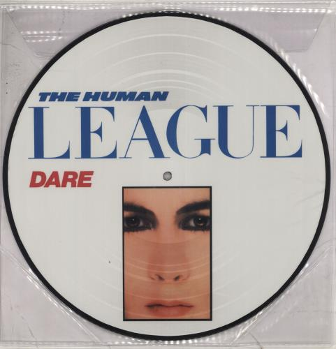 NEW - Human League (The), Dare LP Picture Disc