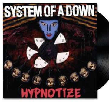 NEW - System of a Down, Hypnotize LP