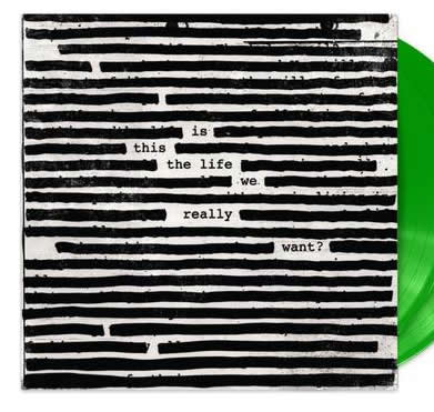 NEW - Roger Waters, Is This The Life We Want Green 2LP