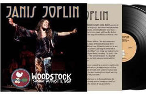 NEW - Janis Joplin, Woodstock Sunday August 17, 1969 - 2LP