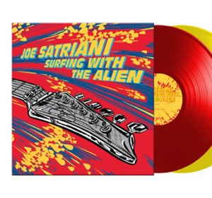 NEW - Joe Satriani, Surfing with the Aliens 2LP Coloured Vinyl
