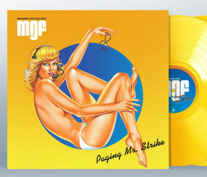 NEW - Machine Gun Felatio, Paging Mr Strike (Coloured) LP
